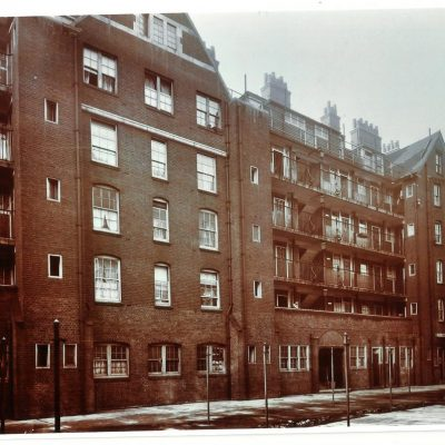 Rear of Mawdley House,Webber Row.1940