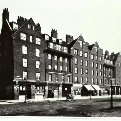 Webber Row shops ,Waterloo Road.1930
